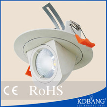 Rotate 10w led spotlight