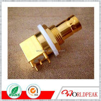 high quality bnc terminal connector crimp male to banana jack plug adapter connector