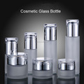 good-quality glass cosmetic cream container, glass bottles for skin care, health care products bottle