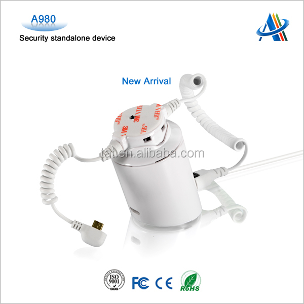 mobile phone anti-theft alarm system phone security display device for phone display A980 without Grippers