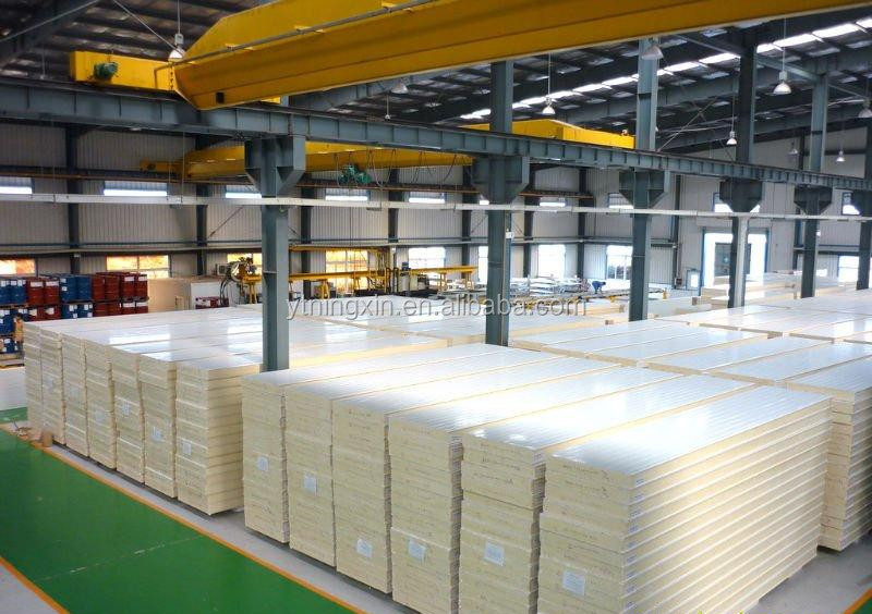 Pu sandwich panel price for freezer room