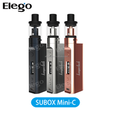 ELEGO stock offer wholesale Kanger Subox Mini-C Starter kit with Kbox mini-C and protank 5, Subox mini-C starter kit