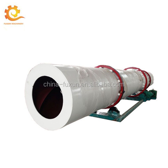 continuous rotary drum dryer / cow manure rotary dryers / rotary sugar dryer