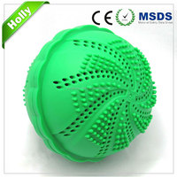 Convenient magic velcro washing ball
