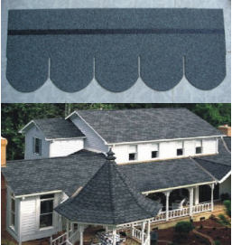 Professional Wholesale 2.0-3.0mm tickness asphalt shingles roofing supplier