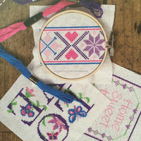 Embroidery Circle Set For DIY Art