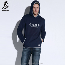 wholesale custom printed 100% cotton men's hoodies