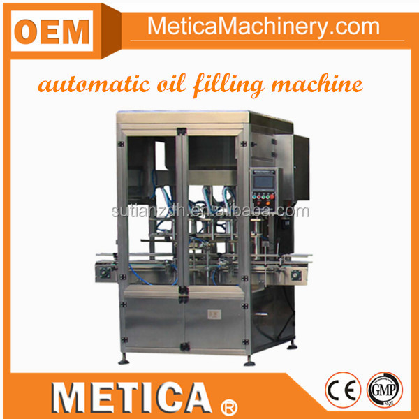 MTFM-1000 automatic bottle filling machine for liquid