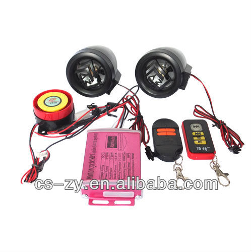electronic motorcycle alarm system of waterproof mini mainframe