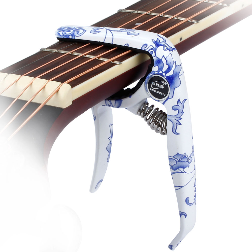 guitar acoustic electric guitars zinc alloy Chinese style pattern capo
