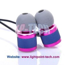 2012 the hottest mobile phone earphone for samsung with soft ear buds