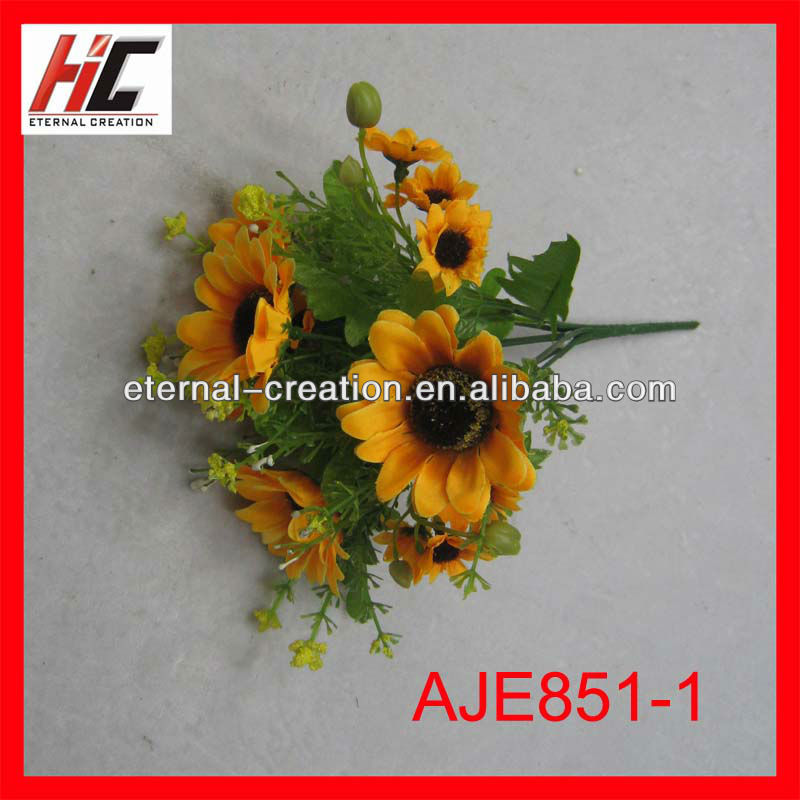 Decoration cemetery flower holders real touch flowers wholesale
