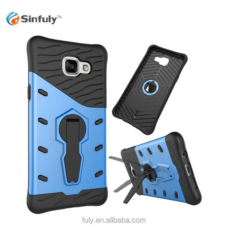 Sniper Hybrid 360 Rotation Kick Stand Bulk Cell Phone Cover case for samsung galaxy a5 2016 (2016) A510 Shockproof case