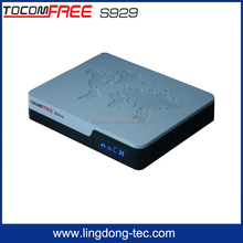 digital satellite receiver tocomfree s929 with iptv 3G iks sks free for South America Amazonas