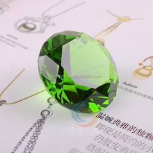 excellent crystal glass diamond decors MH-CD065
