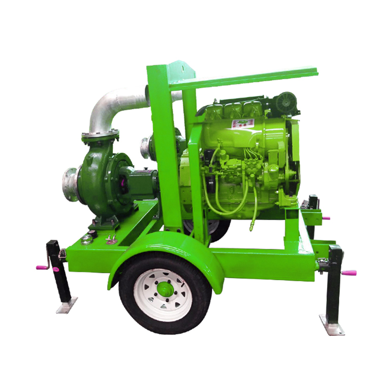 Mobile type centrifugal 8 inch Deutz diesel engine water <strong>pump</strong> for irrigation