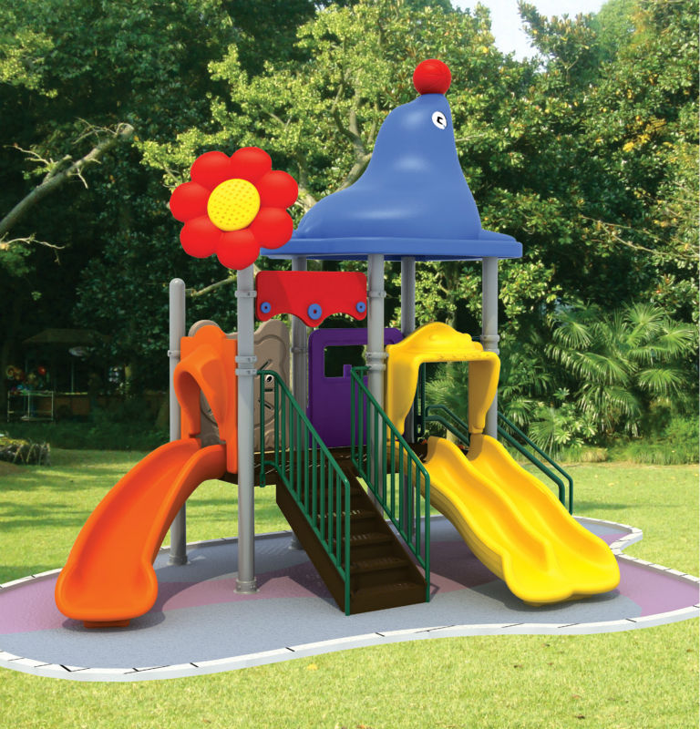 cheap plastic outdoor playgrounds for children