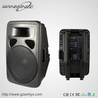 Factory Equipment Power Amplifier Sound Standard Trolley Portable Soud System Speaker