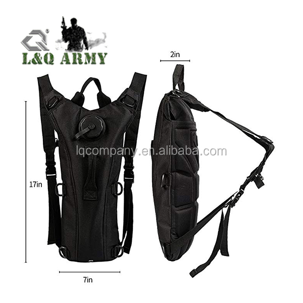 Hydration System Bladder Water Bag Pouch Backpack for  Climbing