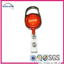 Personalized Double Sided With Retractable Lanyard Badge Reel Alligator Clip