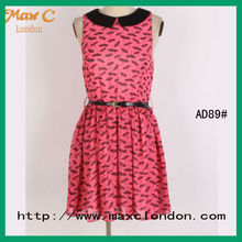 2012 High fashion the latest dress patterns for girls
