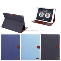 New Products Retro Flip Leather Stand Cover for ipad pro with wake up /sleeping function , for ipad pro case