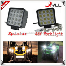 high Quality 48 watt Working led lights 10V 30V offroad auto 48w led working light for car
