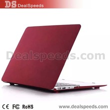 Dark Red Matte Hard Case+Keyboard Silicone Cover for Macbook 12 Inch