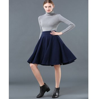 2017 Latest design clothing factory wholesale women casual autumn summer mini dress skirt