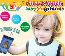 Intelligent touch screen mobile phone toy for baby