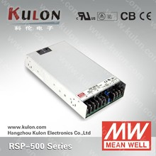 MEAN WELL 500w 48v PFC remote controlled switches power supplies RSP-500-48