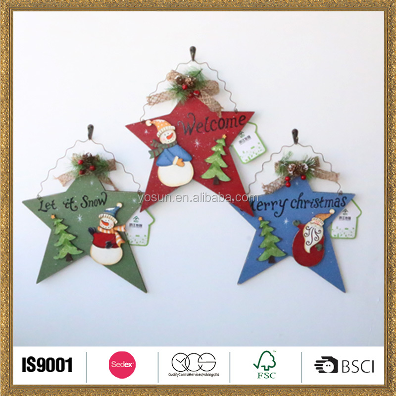 artwork vacation colorful star christmas ornaments with names