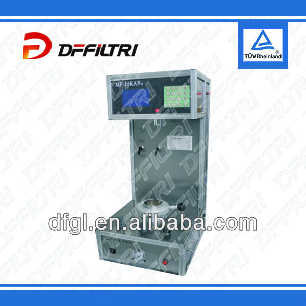 Integrity Test Instrument with long experience and expert technical knowledge