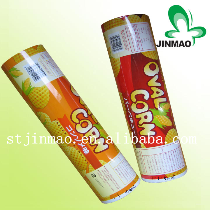 Wholesale custom food plastic packaging roll film