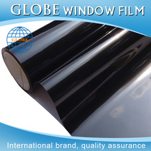 High style static cling privacy glass decorative window film black color