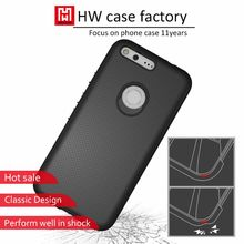 Shock Absorption Technology TPU PC Bumper Case Hard Back Cover Anti-Scratches Case for Google Pixel Cover