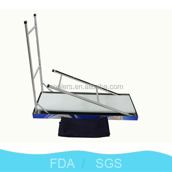 hot selling bar table steel bar table 44'' foldable bar table