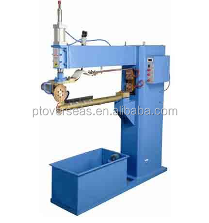 Air duct straight stitch seam welding welder machine