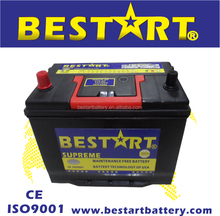 12V 70Ah automobile electric vehicle car battery Maintenance free 65D31R
