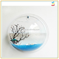 Hot Sale beautiful round shape acrylic fish tank cheap price With 100% virgin PMMA material