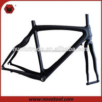 China Manufacturer High Quality Low Price 700x23C Carbon Fiber Road Bike Frames With Fork