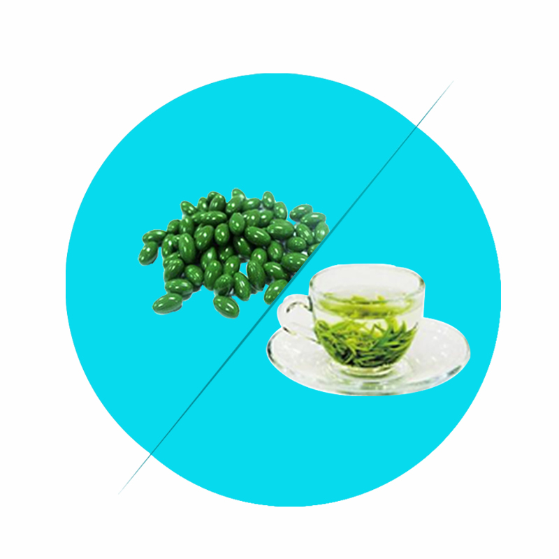 OEM green tea extract softgel for loss fat