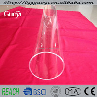 "high-temperature 8"" quartz glass tube"