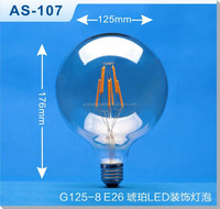 G125 LED Filament Lamp G30 LED Edison bulb
