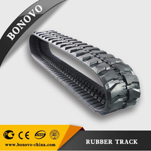 MESSERSI 35PG,CH1,CH1H1,CH2,CH2/R,CHR13,CH3,CM1,M08,M08E,M15,M16,M16BVM18 rubber track made from natural rubber for Excavator