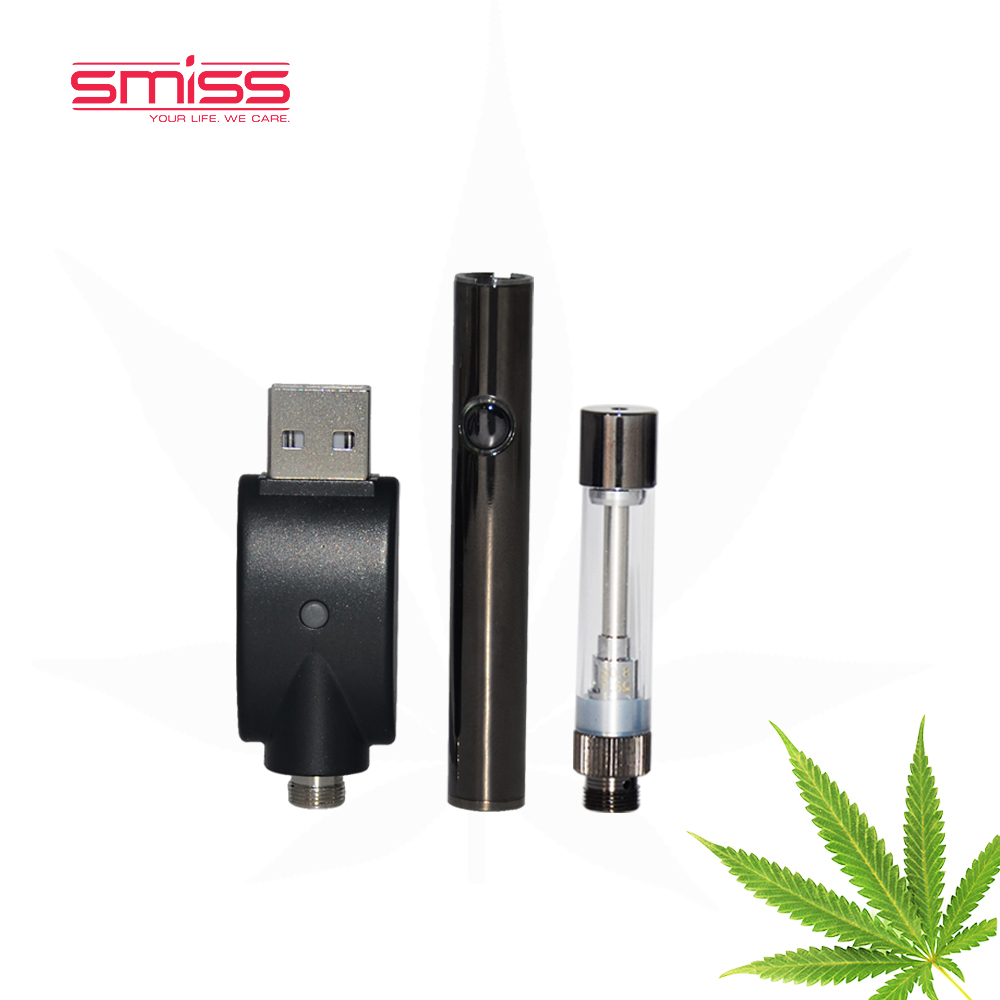 2017 Smiss Mkb 510 Glass Cbd Hemp Oil Ceramic Cartridge Disposable