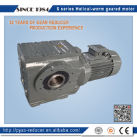 S series helical worm speed-up gearbox for wind turbine generator