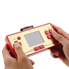 classic TV game console real 600 game build in handheld game system 2.6 inch