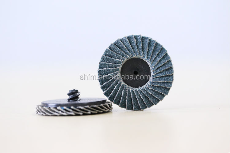 "2"" and 3"" mini Flap Discs Roloc Quick Change - Type R or S"