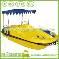 Water park rides water pedal boat for sale